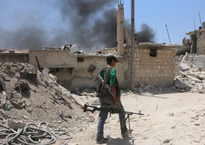 مثّل «جند الأقصى»، بحسب الفصائل خطراً عليهم في إدلب (الأناضول)