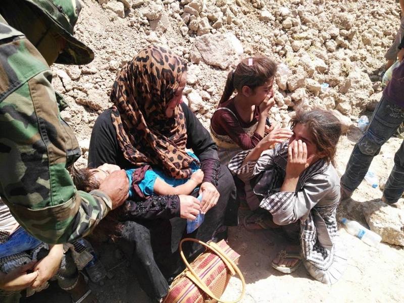 868 عائلة عراقية تمكنت من الهروب من الفلوجة (الأخبار)