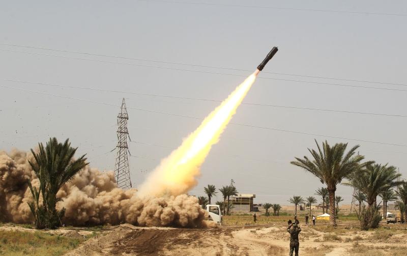 تواصل القوات العراقية تقدمها من الجهة الجنوبية للفلوجة (أ ف ب)