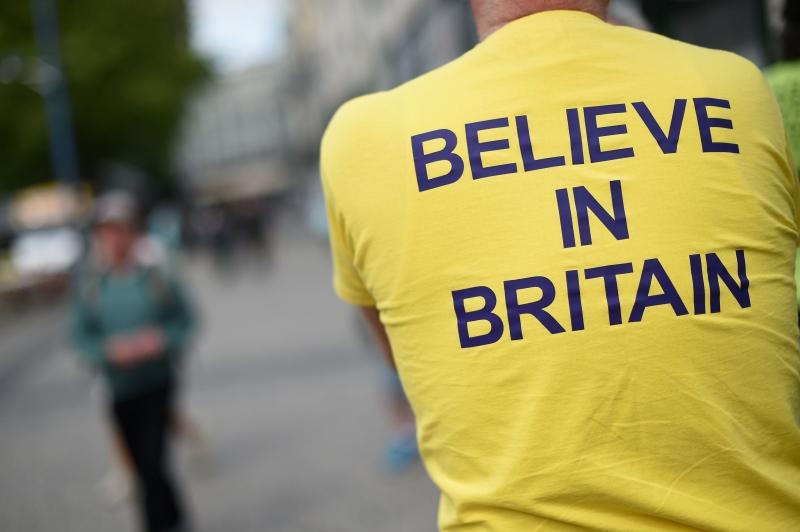 ندّد رئيس الوزراء الاسبق، جون مايجور، بالخداع الذي يمارسه مؤيّدو فكرة الخروج (أ ف ب)