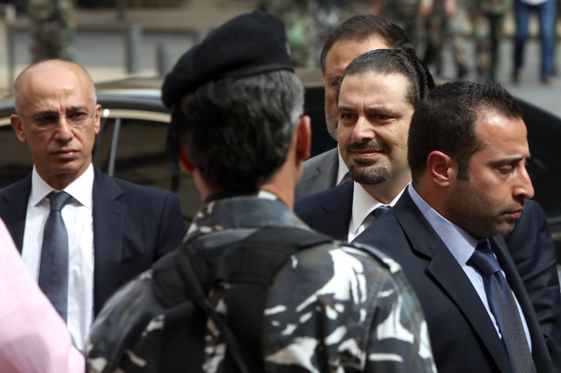 الحريري غير قادر على تنفيذ نصيحة هولاند بسبب الاعتراض السعودي (مروان طحطح)