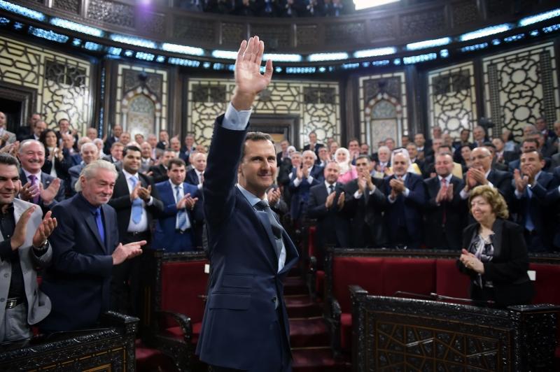 الأسد: الأميركي يغضّ الطرف عن وكلائه في المنطقة بخصوص الهدنة (أ ف ب)