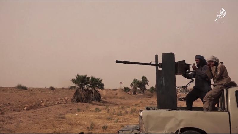 ترتكز أيديولوجية «داعش» على إبادة الآخر (من أحد إصدارات التنظيم)