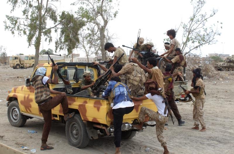 تلقت قوات «التحالف» ضربات موجعة في محيط كوفل في مأرب (أ ف ب)