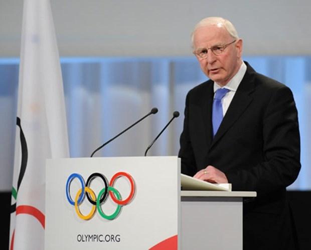 """أعرب رئيس المجلس الأولمبي الأوروبي، الإيرلندي باتريك هيكي، عن """"صدمته"""" من هذه الخطوة (أرشيف)"""