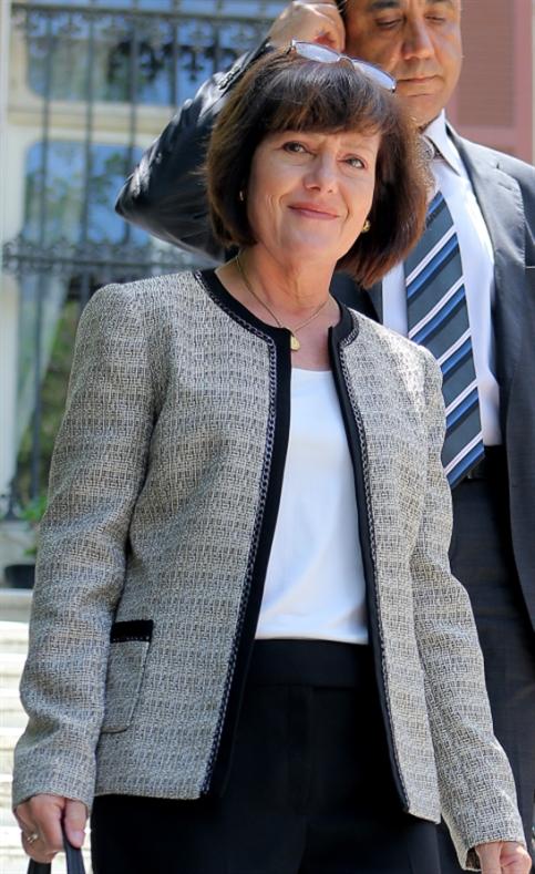ريتشارد في وزارة الخارجية الأسبوع الماضي  (هيثم الموسوي)