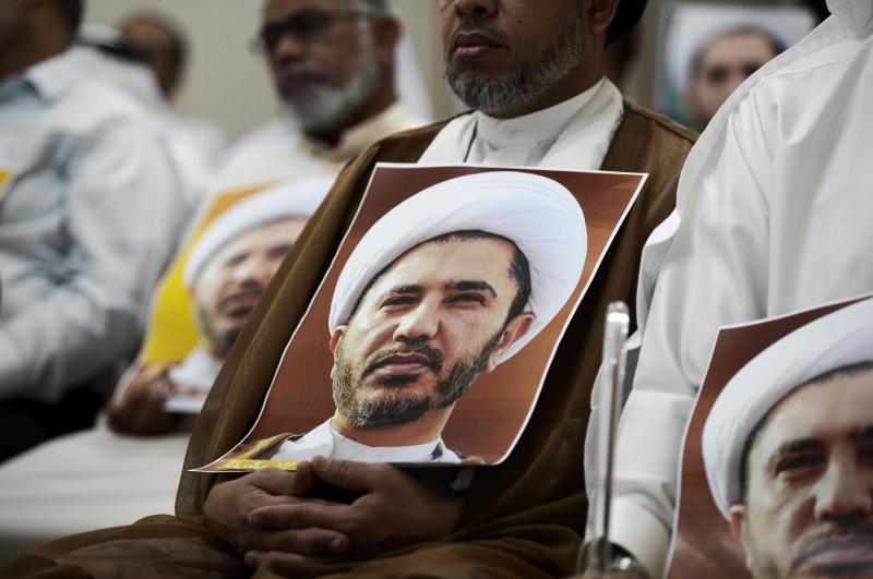 أعلن القضاء البحريني «وهب» أموال «الوفاق» لخزينة الدولة (أ ف ب)