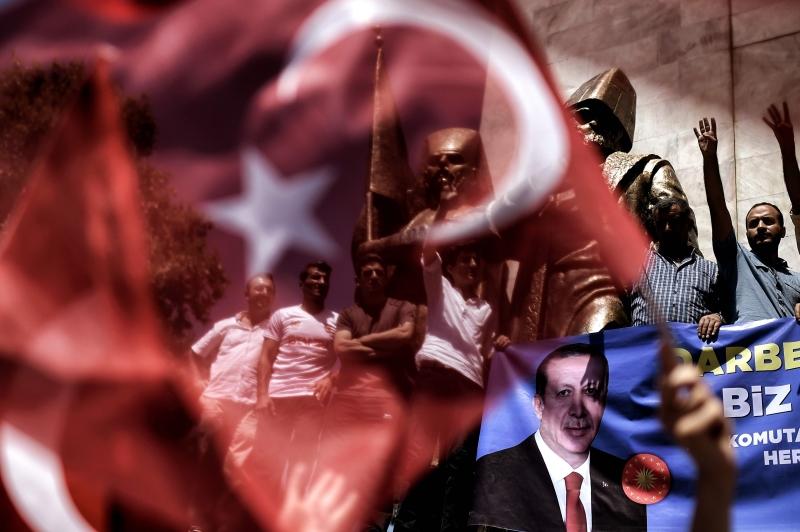 العودة إلى تطبيق  عقوبة الإعدام تخلق جدلاً بين شركاء تركيا (أ ف ب)