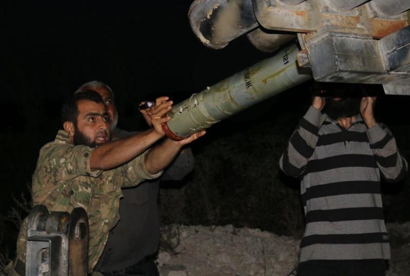 حققت وحدات الجيش تقدّماً باتجاه ميدعا في الغوطة الشرقية (الأناضول)