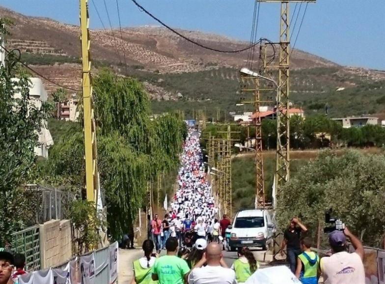 المشاركون يملأون الطرقات في سباق العام الماضي (ارشيف)