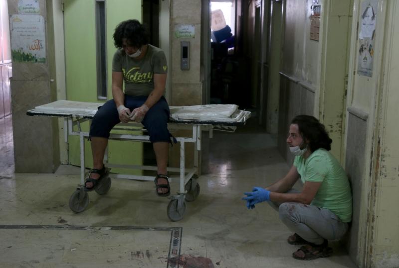 مدير «الهلال»: إسعاف المصابين بالقذائف هو من اختصاص مديرية الصحة (الأناضول)