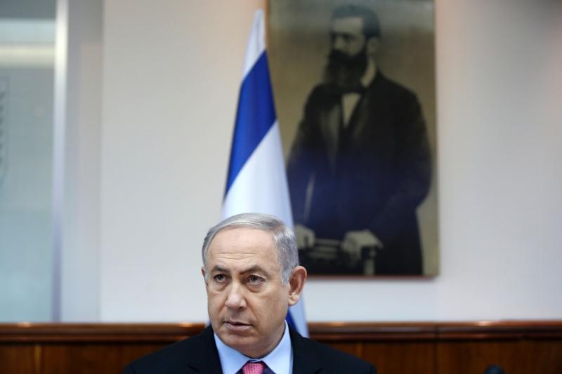 لا يزال بنيامين نتنياهو يرفض الصيغة القديمة للمبادرة العربية (أ ف ب)