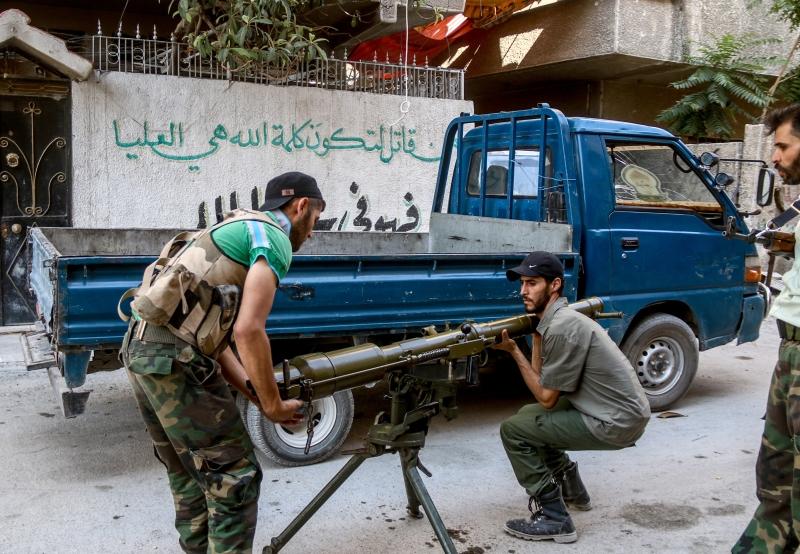 صدّ الجيش هجوماً لـ«داعش» في ريف حماة الشرقي (الأناضول)