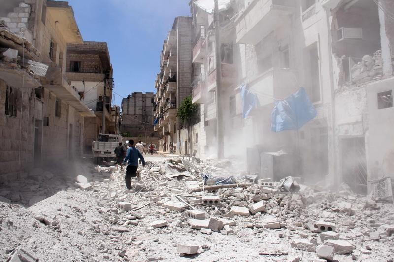 تشوركين: لا نسمع عن مدن محاصرة من قبل المجموعات الإرهابية (أ ف ب)