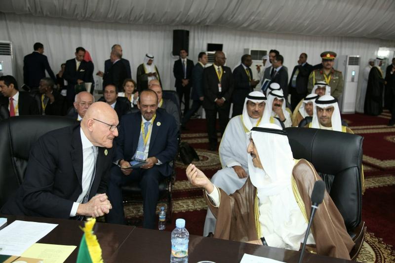 أوضح مصدر مصري أن القوة العربية المشتركة ما زالت نقطة خلافية (دالاتي ونهرا)