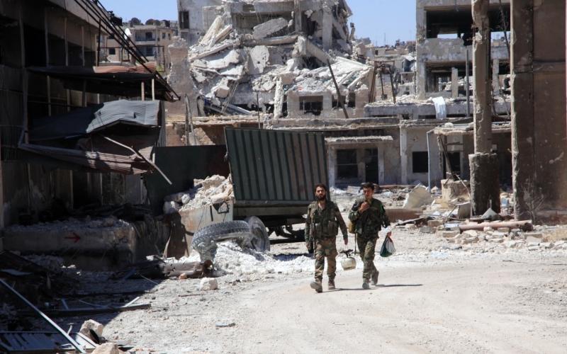 لن يكون سهلاً سماح المسلحين بمغادرة المدنيين الأحياء الشرقيّة (أ ف ب)
