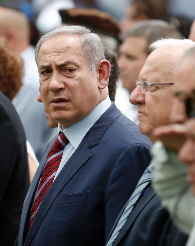 نتنياهو: الاعتداء علينا سيؤدي إلى تدمير حماس والجهاد الإسلامي (أ ف ب)