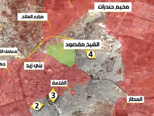 حلب... «مقبرة الفيتوهات»
