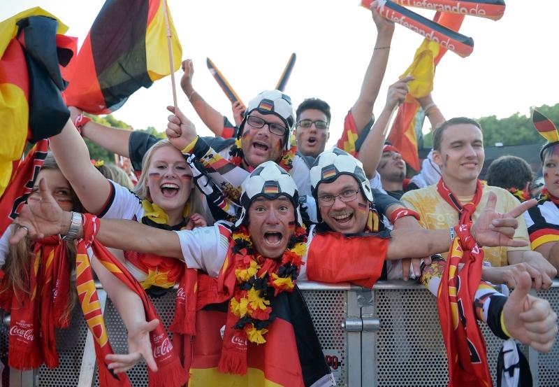 رقم قياسي في ألمانيا خلال البطولة لعدد مشاهدة المباراة (بريتا بيديرسين ــ أ ف ب)