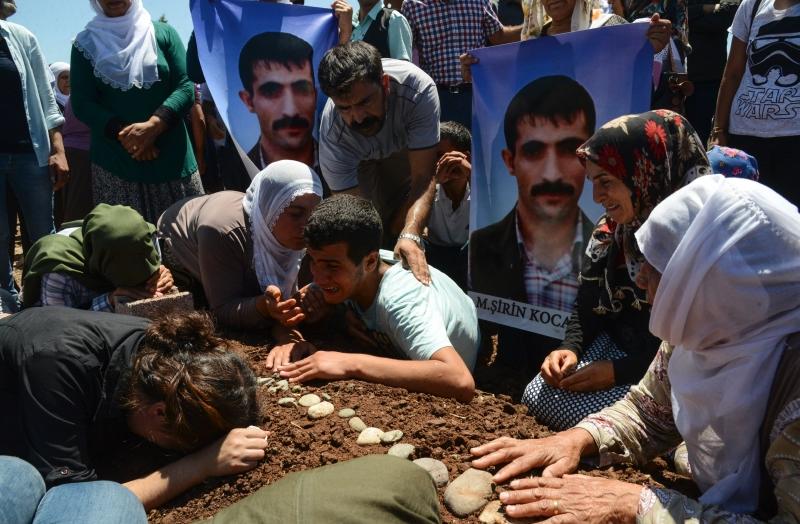 يشارك في حملة «الوحدات» الكردية على منبج 4000 مقاتل (أ ف ب)
