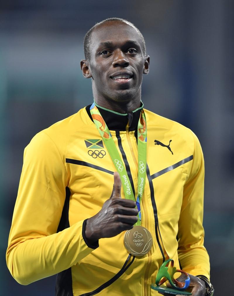 جدد بولت علو كعبه على الجميع في سباق الـ 100 متر (أ ف ب)