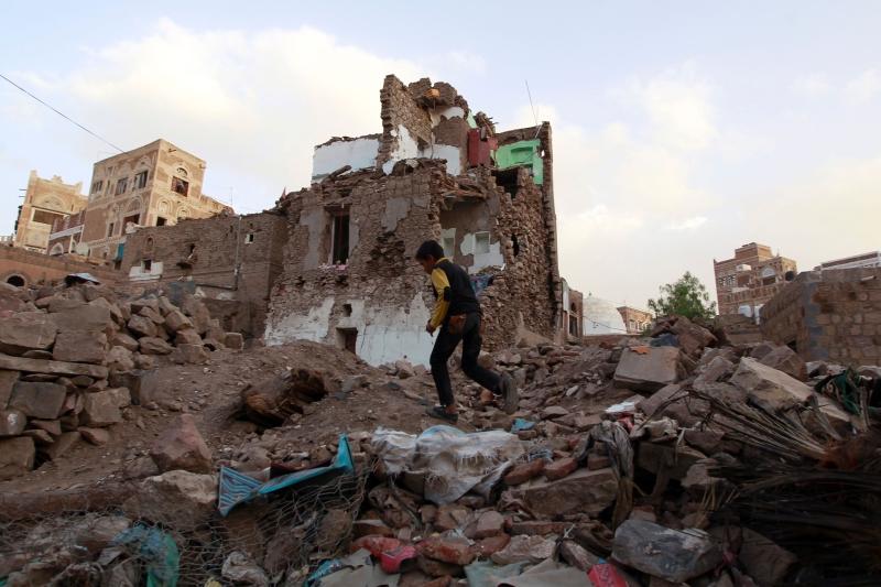تتحمل الولايات المتحدة وبريطانيا وفرنسا المسؤولية عن المعاناة في اليمن