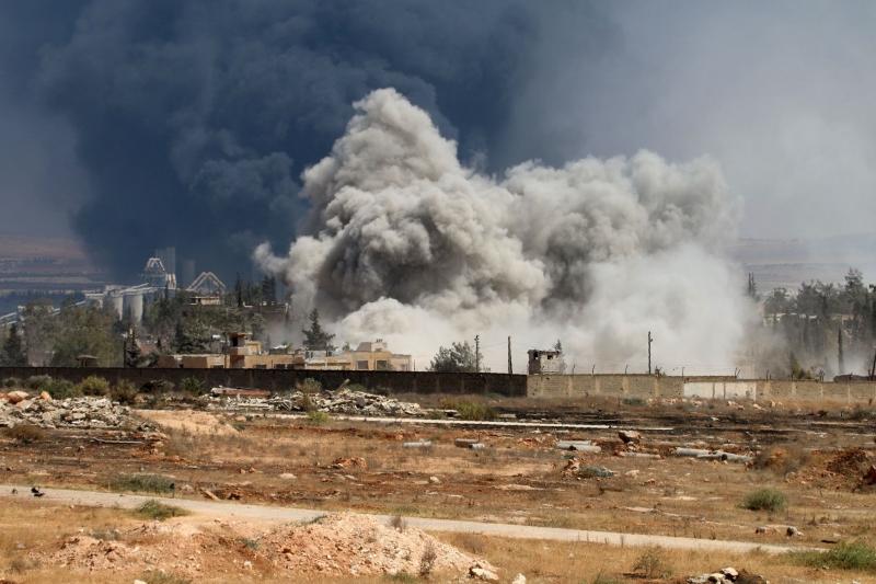 رحّبت روسيا بمقترح الهدنة الأممي «الأسبوعي» في حلب (أ ف ب)