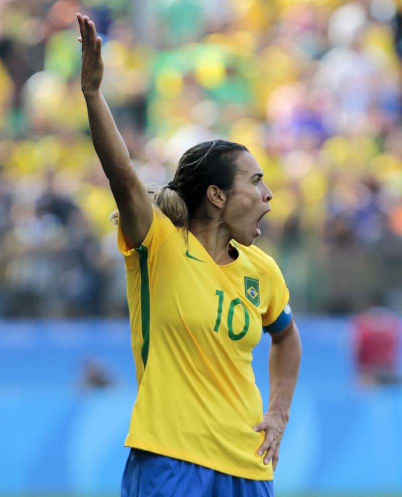 خسرت البرازيل برونزية كرة القدم للسيدات (أ ف ب)