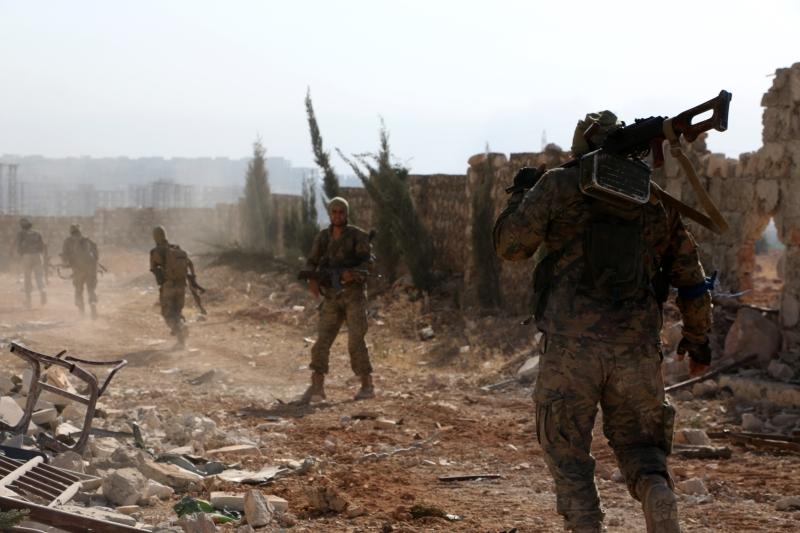 فشل مسلحو ريف حمص الشمالي في معركة «يوم حلب»  (الأناضول)