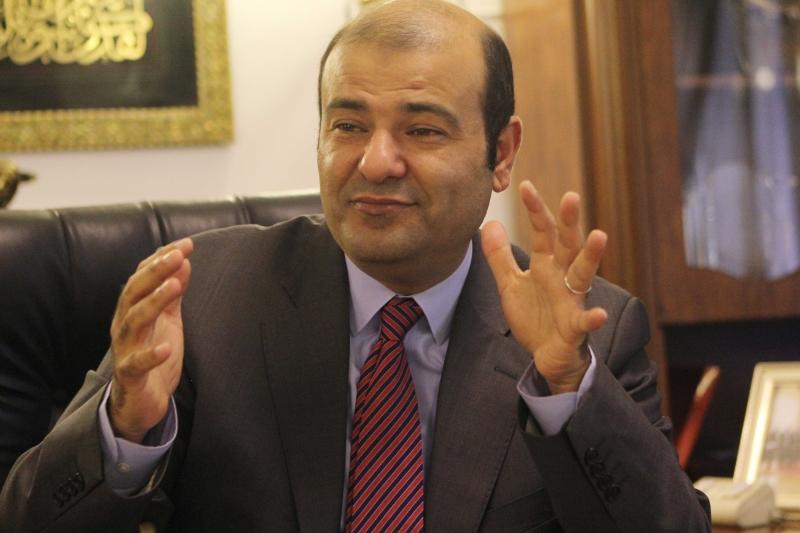 وزير التمويل المستقيل خالد حنفي (عن الويب)