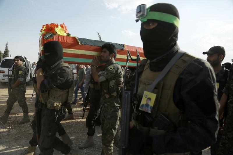 تمسك أميركا بشريان حياة الطموحات الكردية والقدرة على الحدّ منها (أ ف ب)