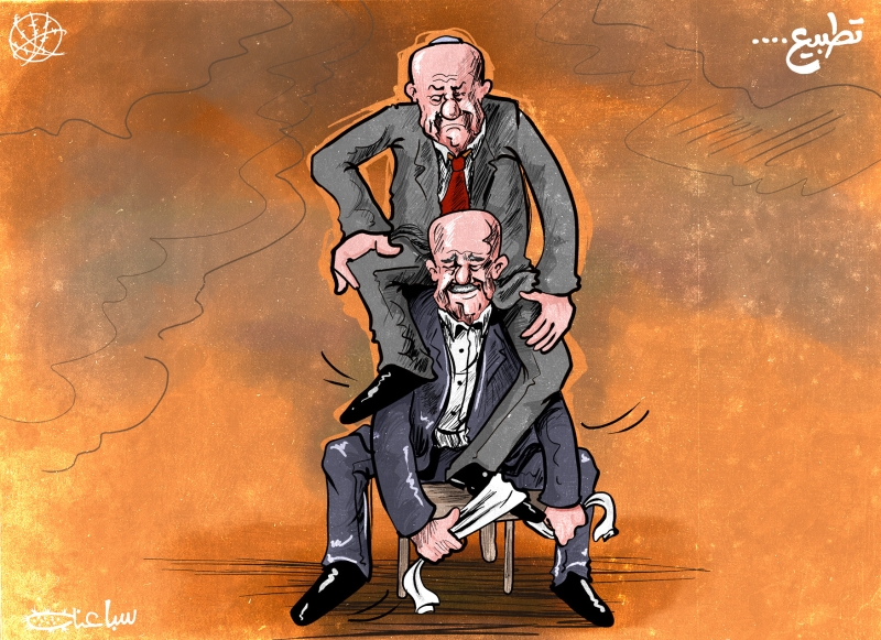 الرسم للفنان الفلسطيني محمد السباعنة