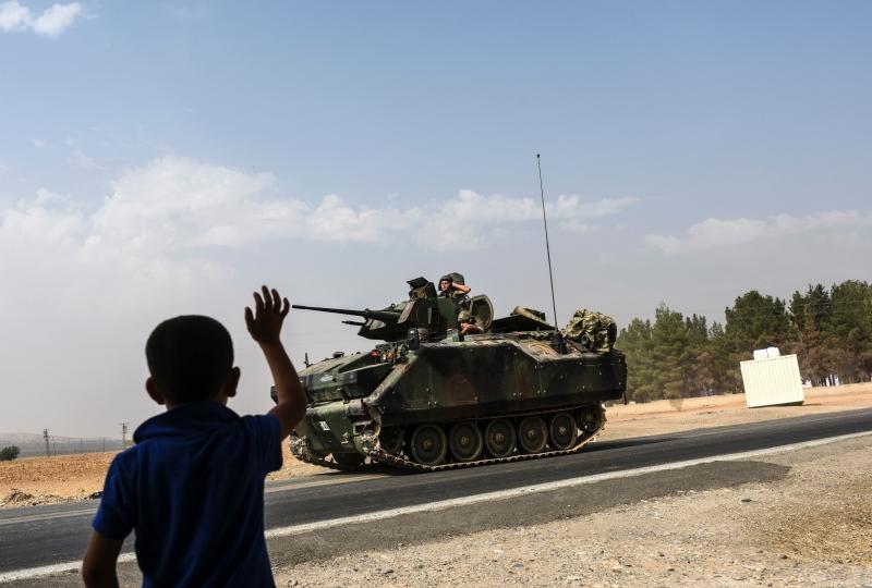 خسر الأكراد إمكانية الاعتماد على بدائل إقليمية بعد تدخل تركيا (أ ف ب)