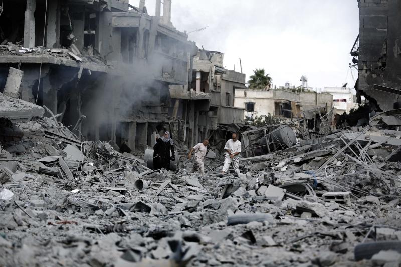 استهداف كل برج في الخط الأخير للنزوح يعادل قصف 60 منزلاً (آي بي ايه)
