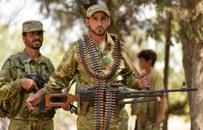 تهدف العمليات إلى إعادة القوات الكردية إلى وضعيتها أواخر العام الماضي (الأناضول)