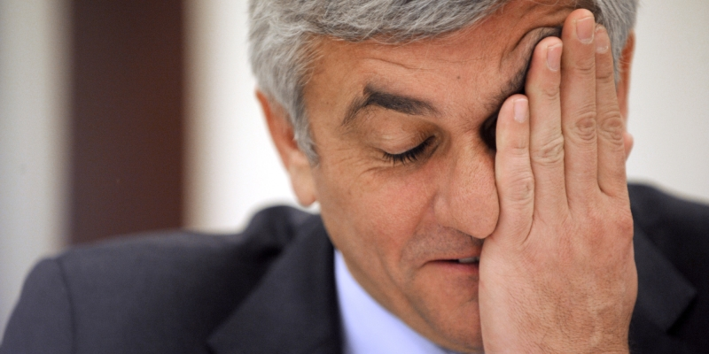 أدى هيرفي موران دوراً سيئاً على رأس وزارة الدفاع الفرنسية (من الويب)