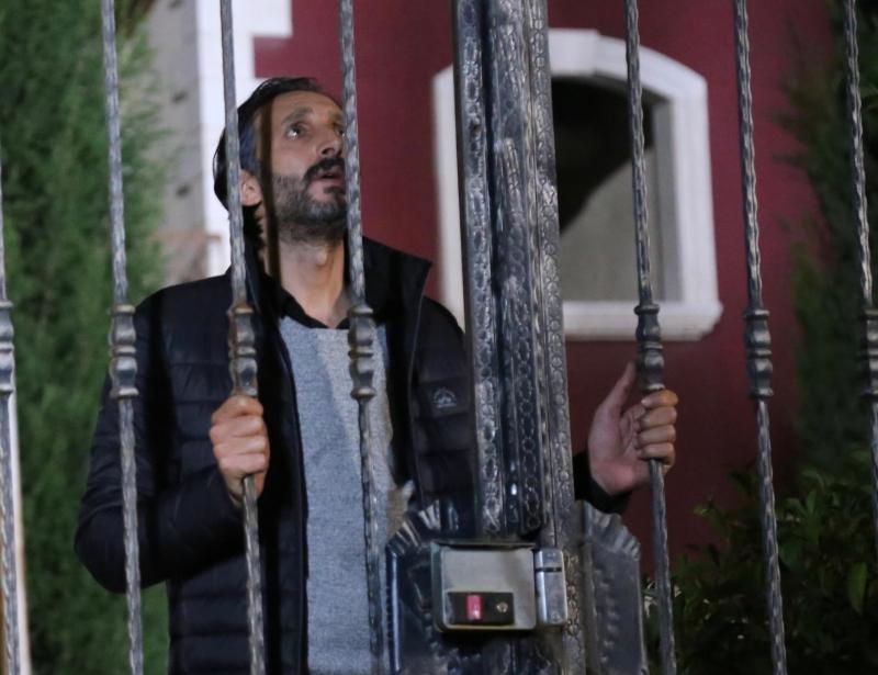 أحمد الأحمد في مشهد من «الندم»