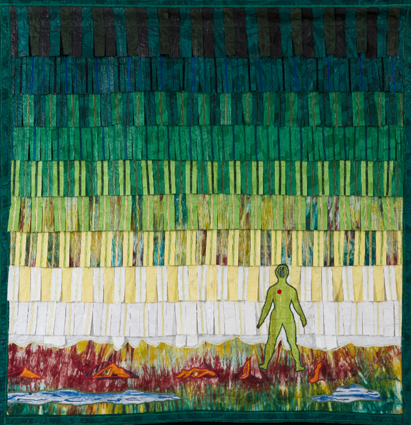 «من دون عنوان» للفنان المالي عبدولاي كوناتي