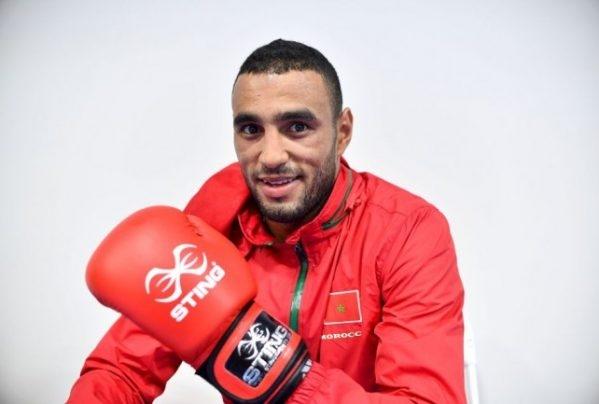 الملاكم المغربي حسن السعادة