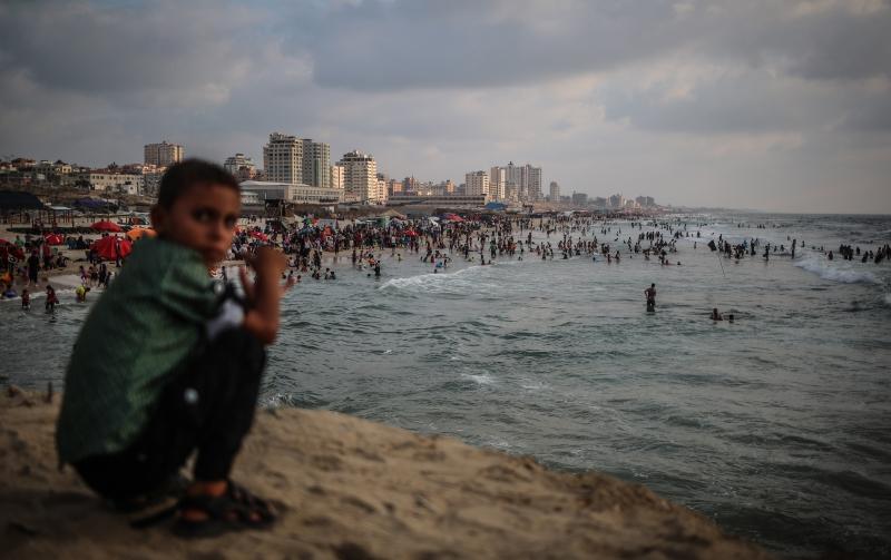 يدعم الجيش الإسرائيلي فكرة إنشاء الميناء خوفاً من انفجار الوضع الأمني (الأناضول)