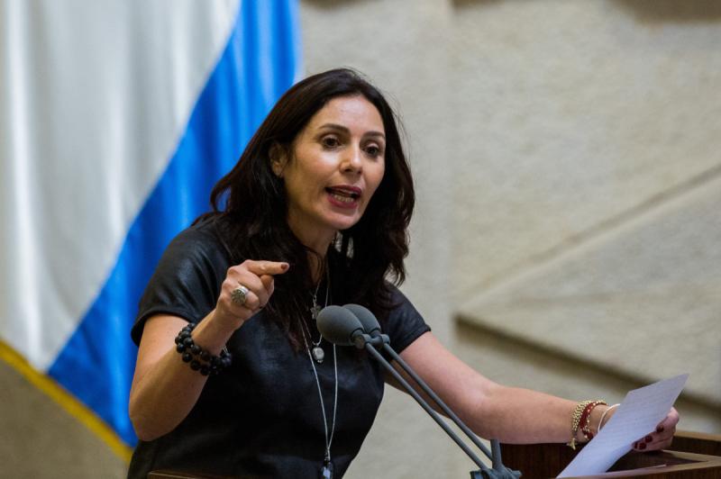 وزيرة الرياضة الاسرائيلية ميري ريغف (أرشيف)