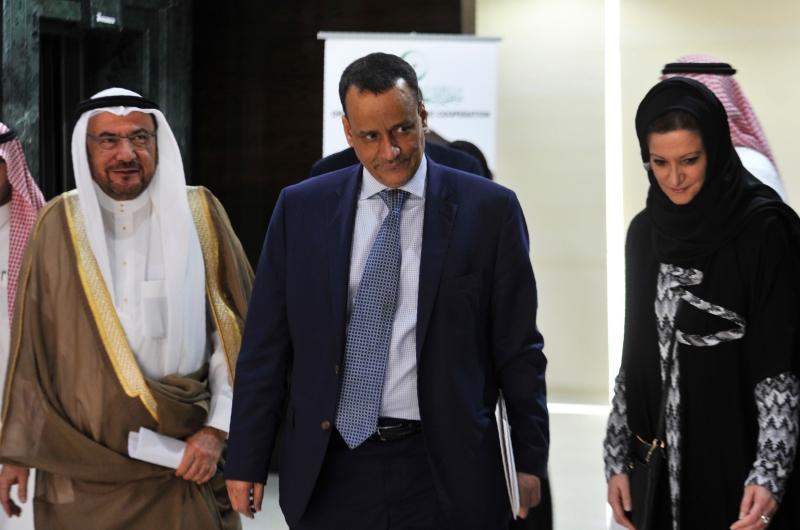 أكد ولد الشيخ أن الحل العسكري غير ممكن في اليمن (أ ف ب)
