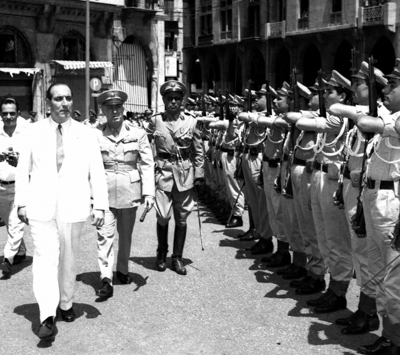 اليمين اللبناني سعى إلى التسلّح بكامل إرادته لا «مُكرهاً» (أ ف ب)