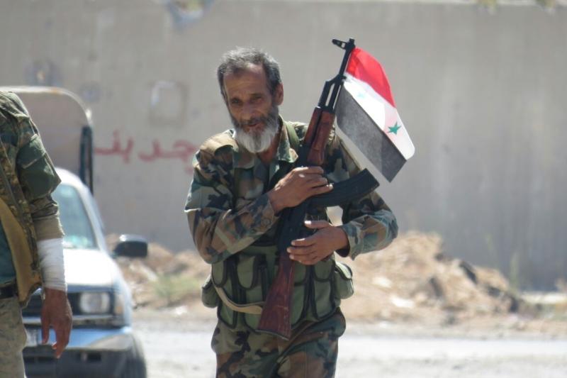 واصلت وحدات الجيش تأمين طريق الراموسة لفتحه أمام المدنيين (الأخبار)