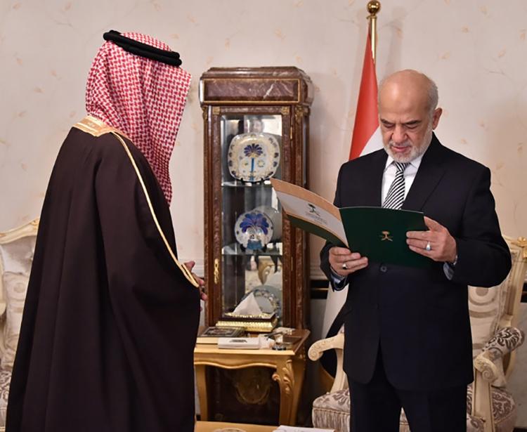في حزيران 2015 أرسلت الرياض السبهان إلى بغداد ليكون سفيرها المقيم