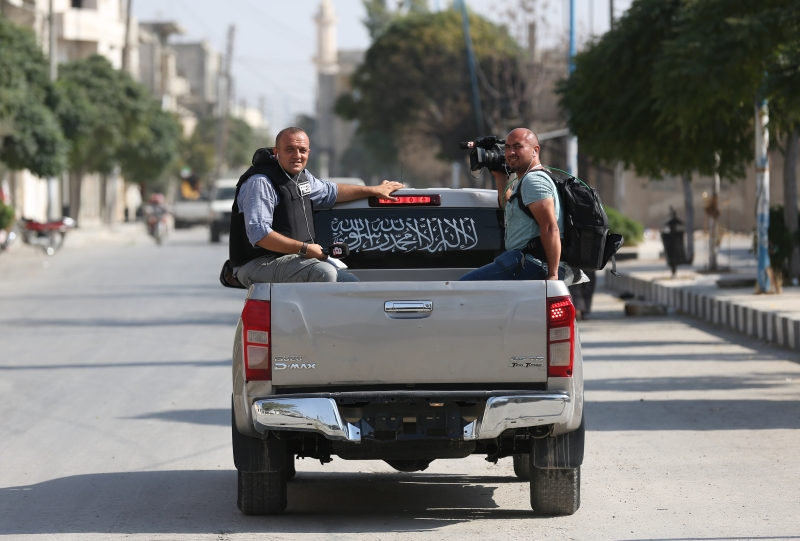 جولة اعلامية في جرابلس بعد سيطرة القوات التركية عليها