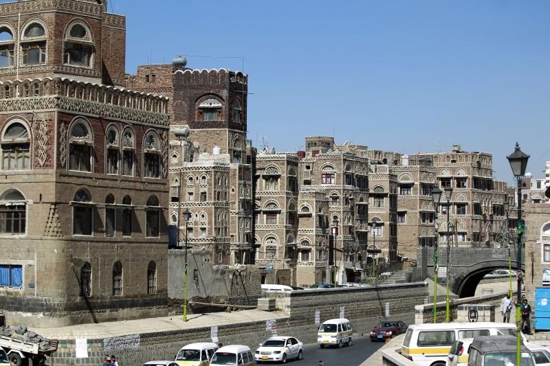 صنعاء القديمة مبنية بالطين (الأخبار)