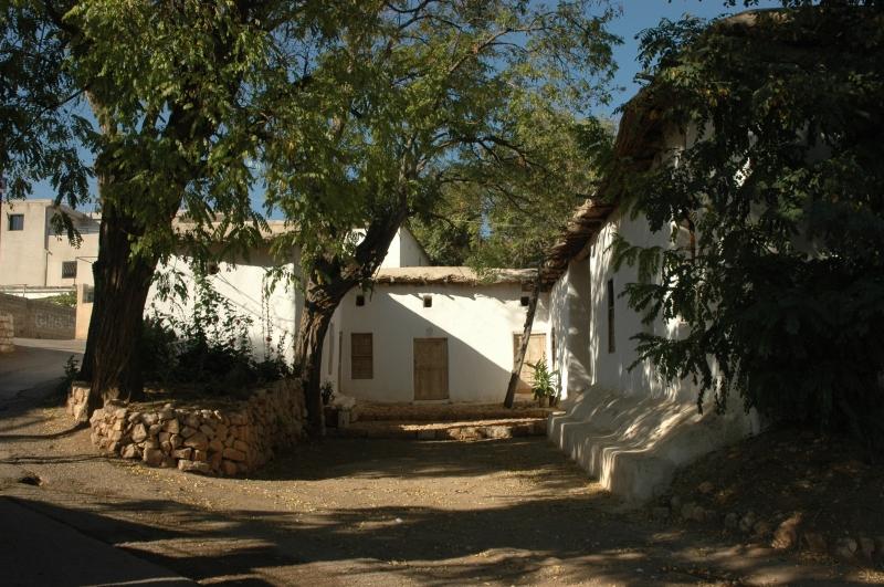 بيت من الطين في تربل يستخدم كمتحف  (هدى قساطلي)