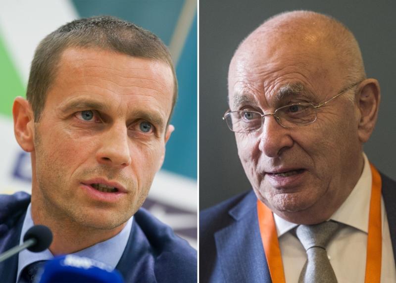 انحصر السباق إلى الرئاسة بين الهولندي فان براغ والسلوفيني سيفيرين (أ ف ب)