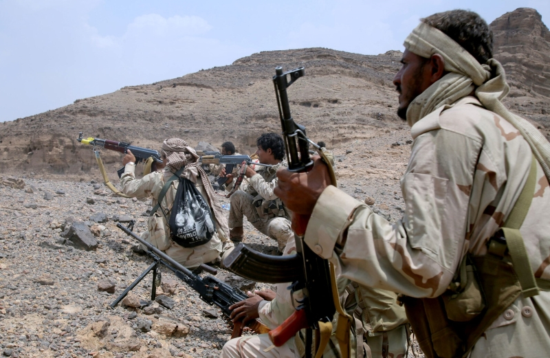 تضم القوة القطرية  1000 جندي معظمهم من اليمنيين المجنسين (أ ف ب)